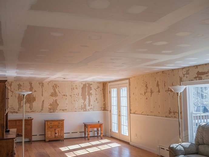 Interior after professional commercial and residential painting services in New London, CT