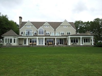 Exterior after professional commercial and residential painting services in New London, CT
