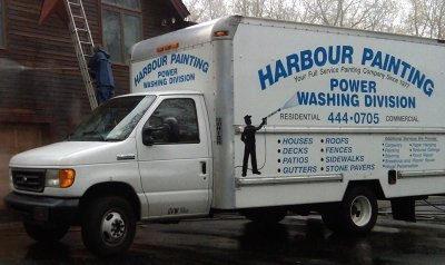 Van of professional commercial and residential painting services in New London, CT