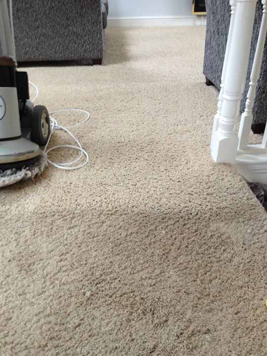 old carpet cleaning