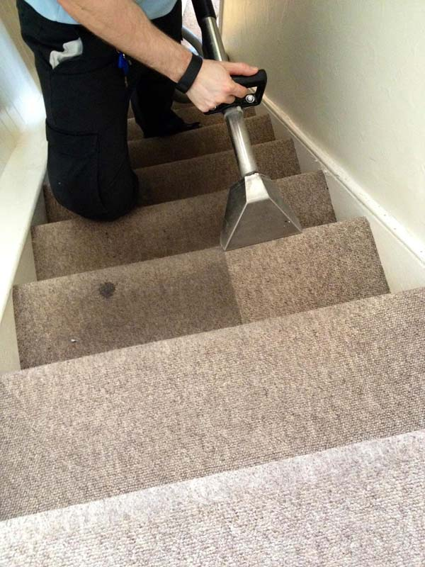 staircase carpets cleaning