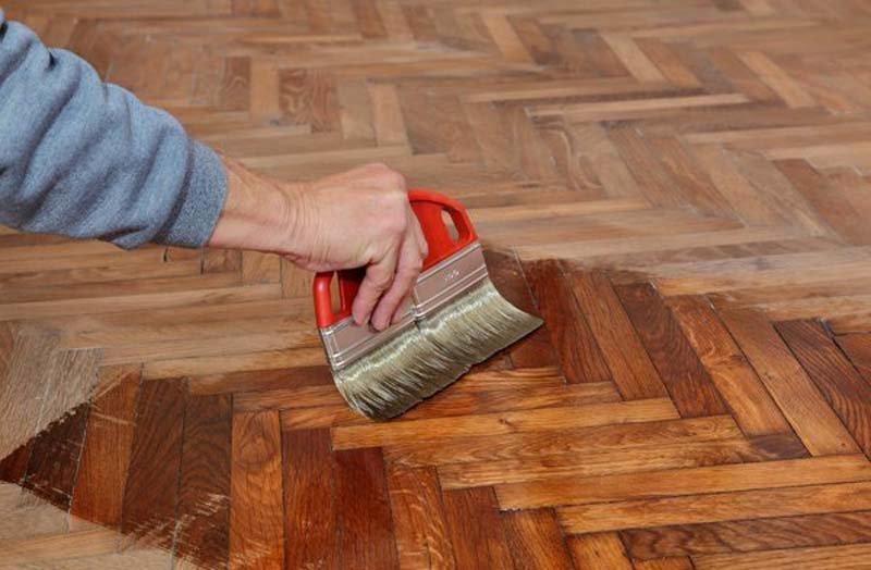 Laminated Floor Polishing
