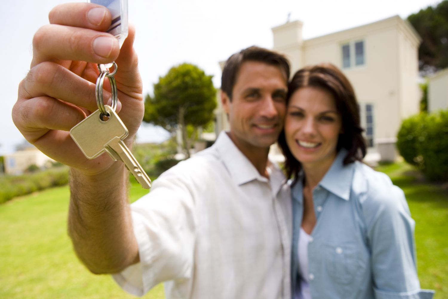 Couple with Key