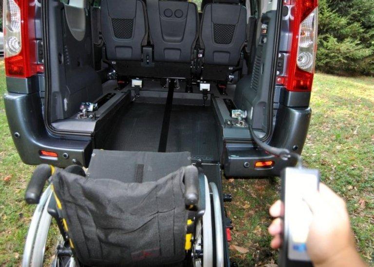 Fiat Scudo boot interior