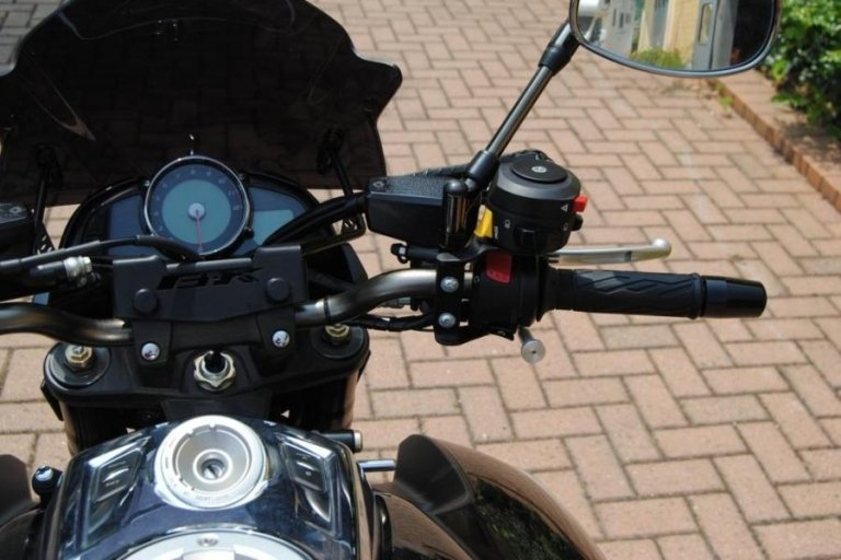 Disabled motorcycle accessories