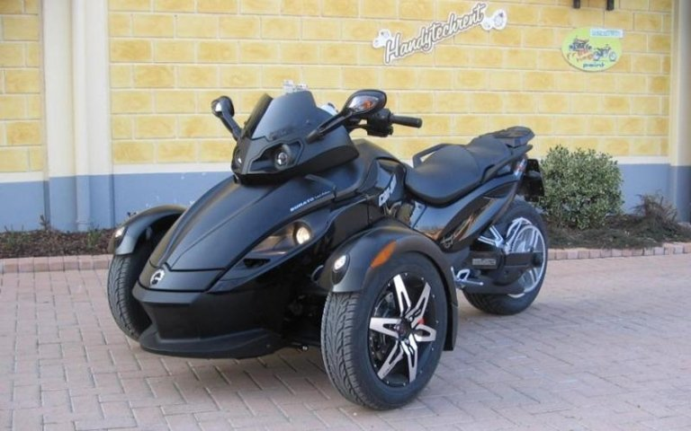three-wheeled motorcycle sales