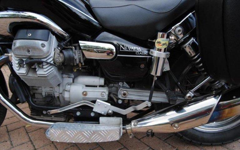 motor de motocicleta de tres ruedas