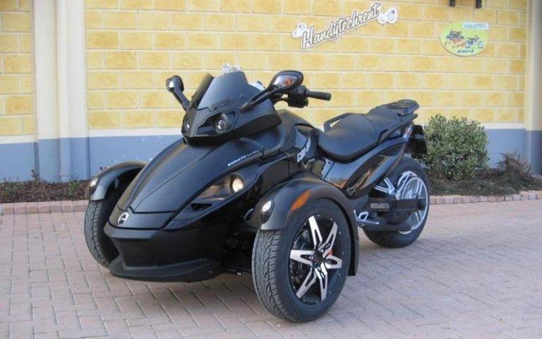 Verkauf Dreirad-Motorräder