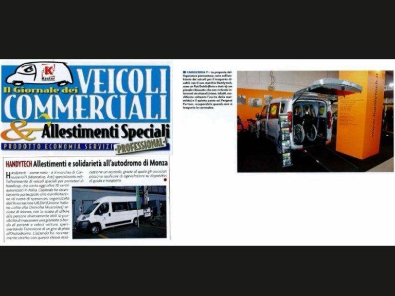 veicoli commerciali professionali