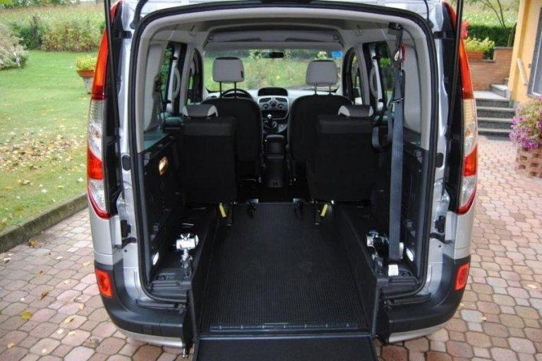 Renault Kangoo boot