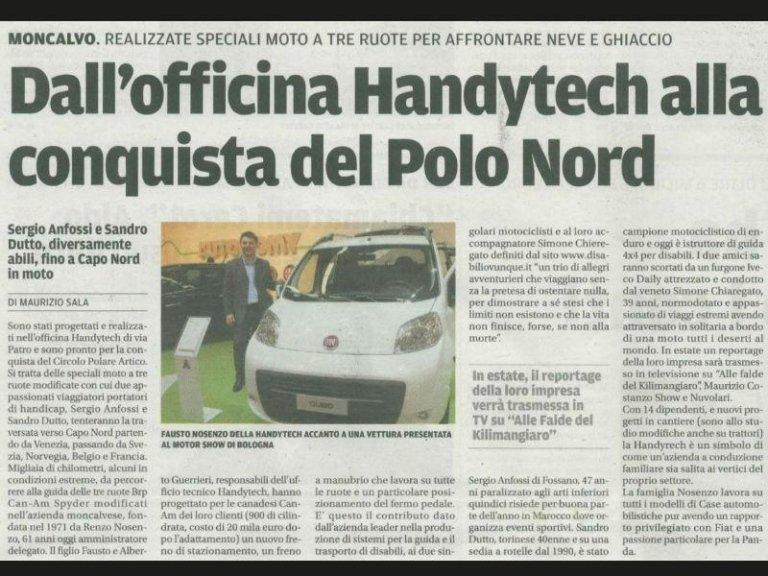articolo Polo Nord