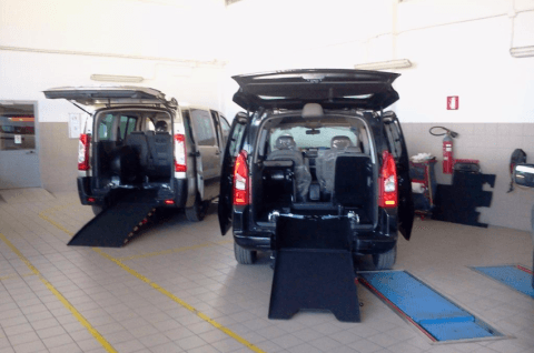 disabled transport platforms