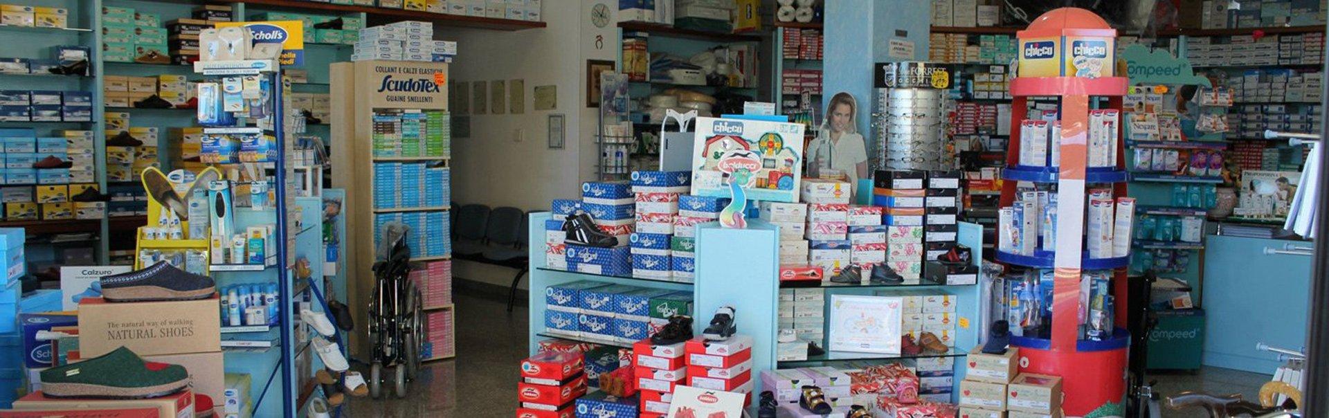 negozio di ortopedia