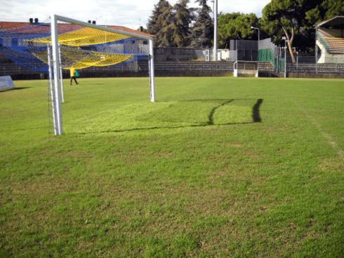 La ditta effettua la manutenzione ordinaria e straordinaria di campi da calcio e da calcetto.
