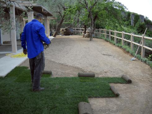 Per la posa e la manutenzione di tappeti erbosi non perdete altro tempo. Contattate la ditta Di Guardo.