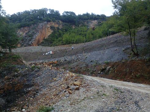 Per lavori di idrosemina su terreni sconnessi rivolgetevi alla ditta Di Guardo.