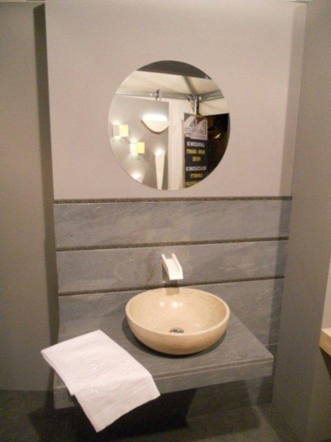 lavabo moderno in marmo