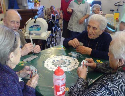 attività ricreative casa di riposo asilo dei nonni