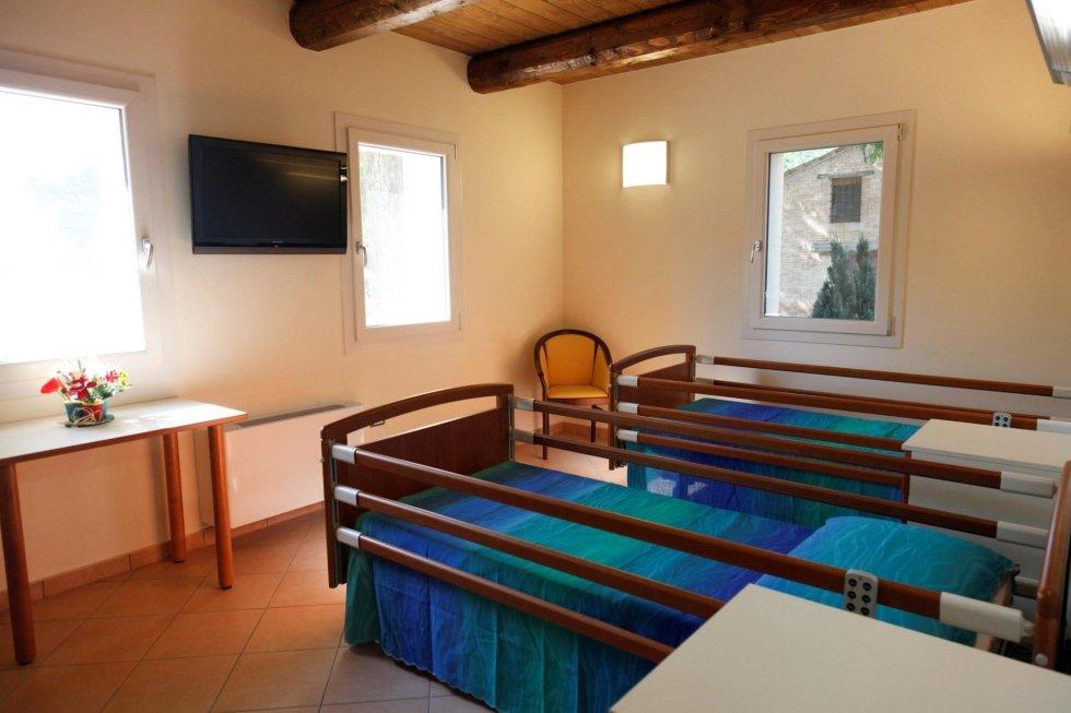 interni della casa di riposo a ravenna asilo dei nonni