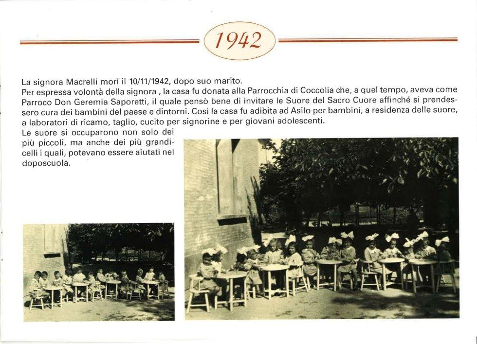 foto vecchia di bambini seduti all'aria aperta
