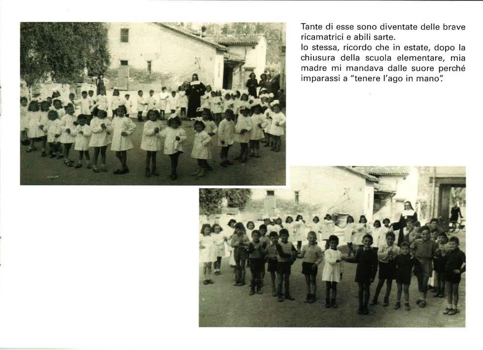 classe di scuola in una foto d`epoca