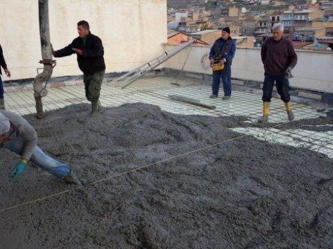Cemento, calcestruzzo, betonaggio di calcestruzzo