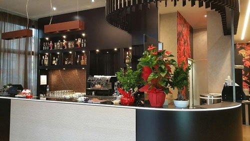 Bancone bar del Ristorante Shizuka