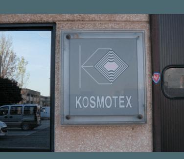 KOSMOTEX srl  - targa