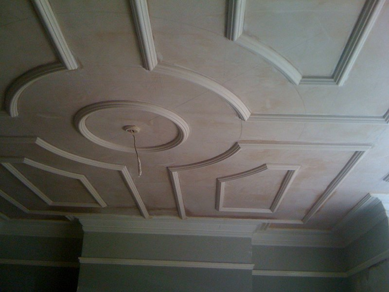 Stylish plaster moulding