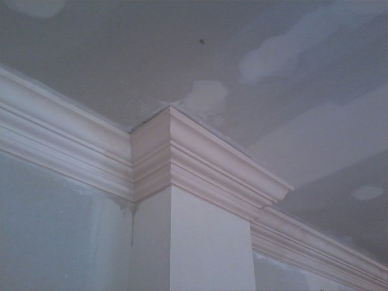 Refurbishment of existing mouldings