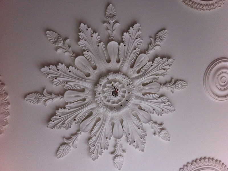 Beautiful bespoke plaster moulding