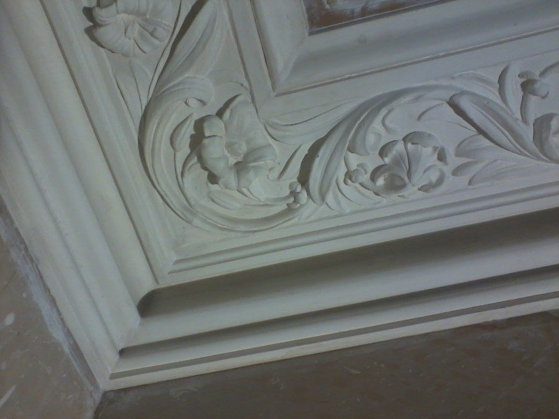Beautiful plaster moulding