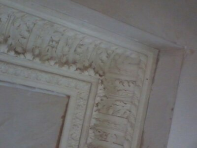 Cornice plastering