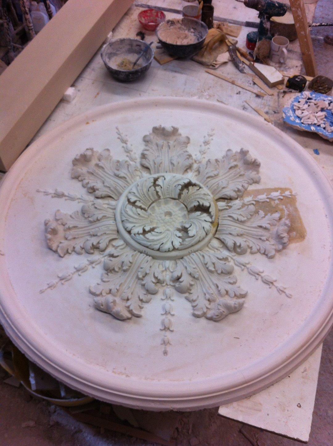 Excellent plaster moulding