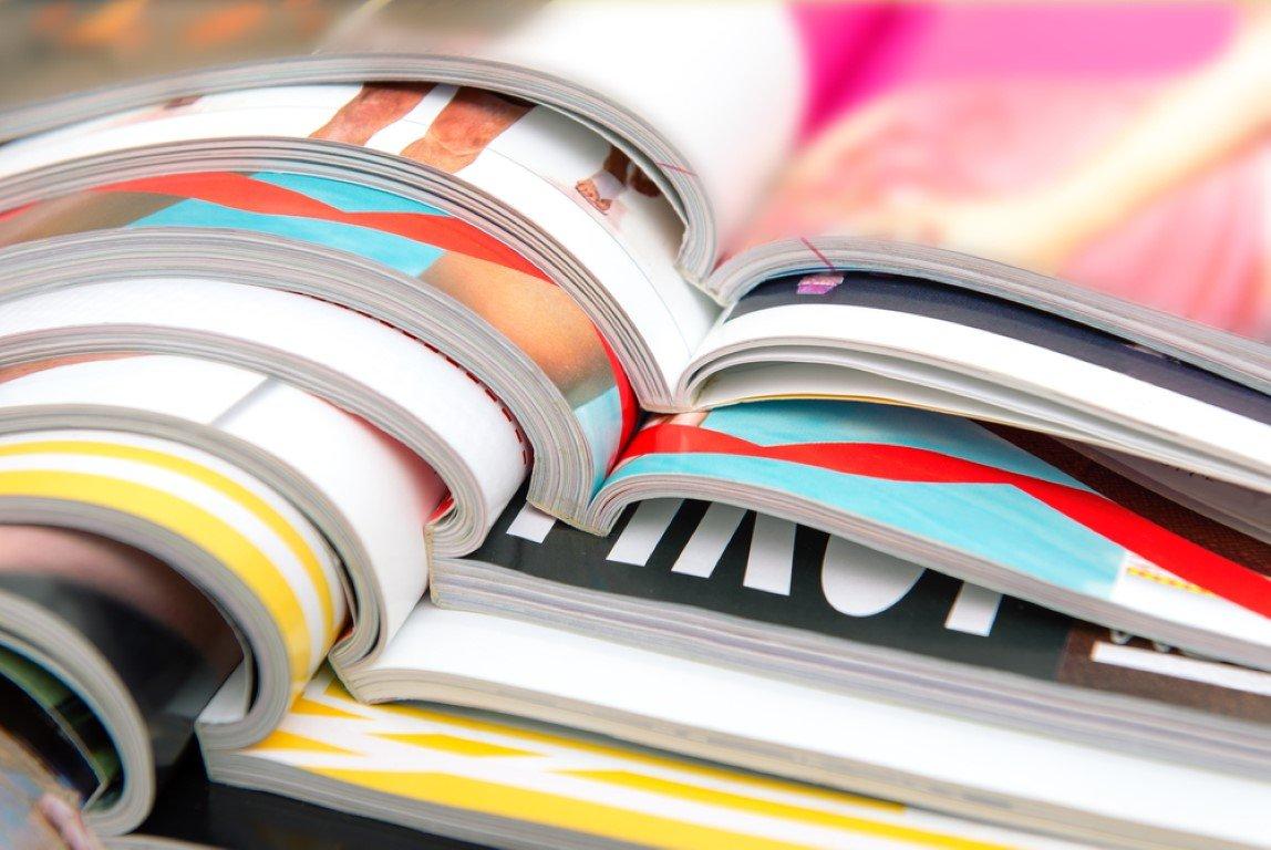 diverse riviste stampate