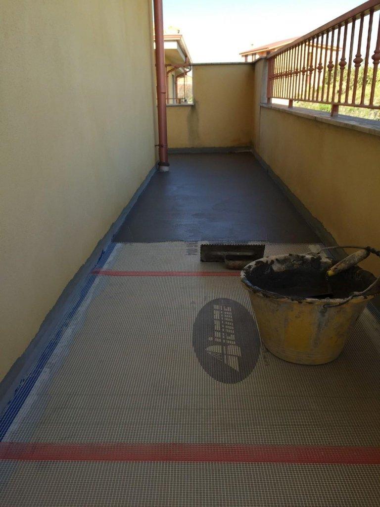 Impermeabilizzazione terrazzi balconi