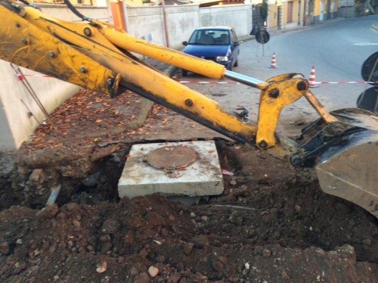Lavoro di scavo