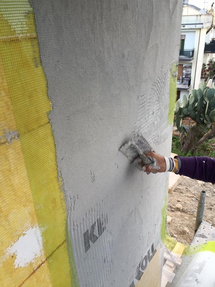Realizzazione Cappotto termico