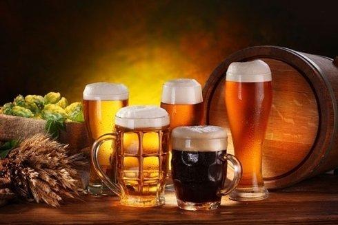 assortimento birre artigianali di diversi gusti
