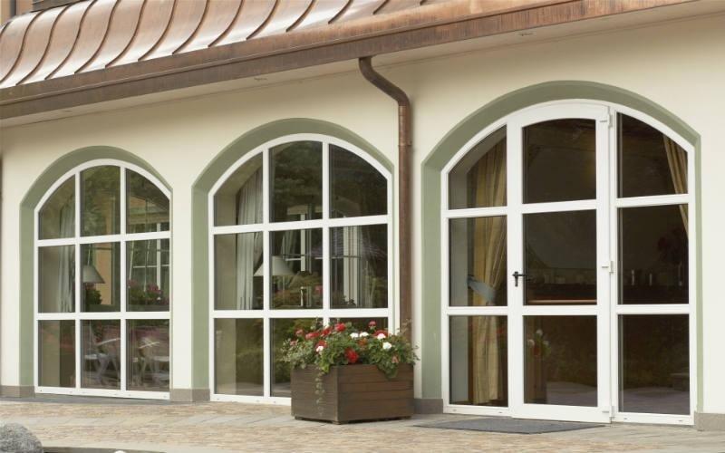 Finestre ad arco interesting finestra pvc nurith casaloft - Gruppo re finestre ...