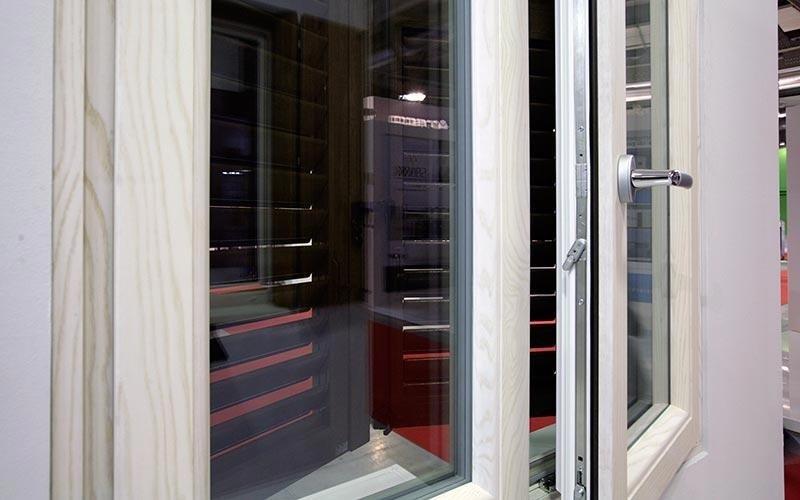 Finestra in PVC e legno