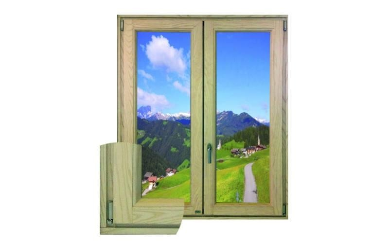 finestra pvc legno Clima Wood