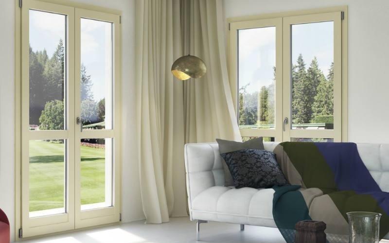 porta finestra alluminio SPI