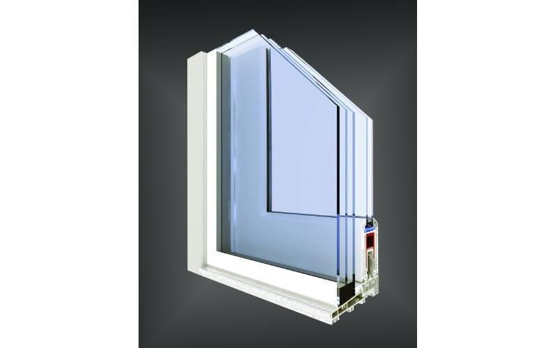 finestra scorrevole pvc Vision Fine
