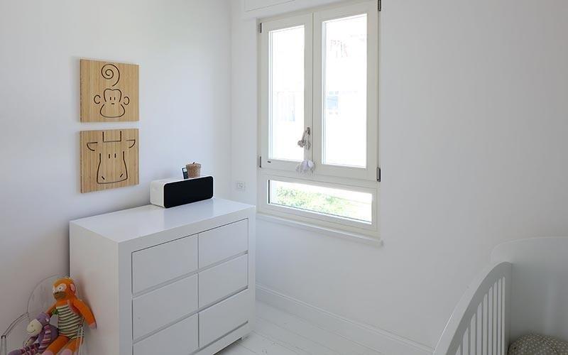 Serramenti in legno bianco Campesato