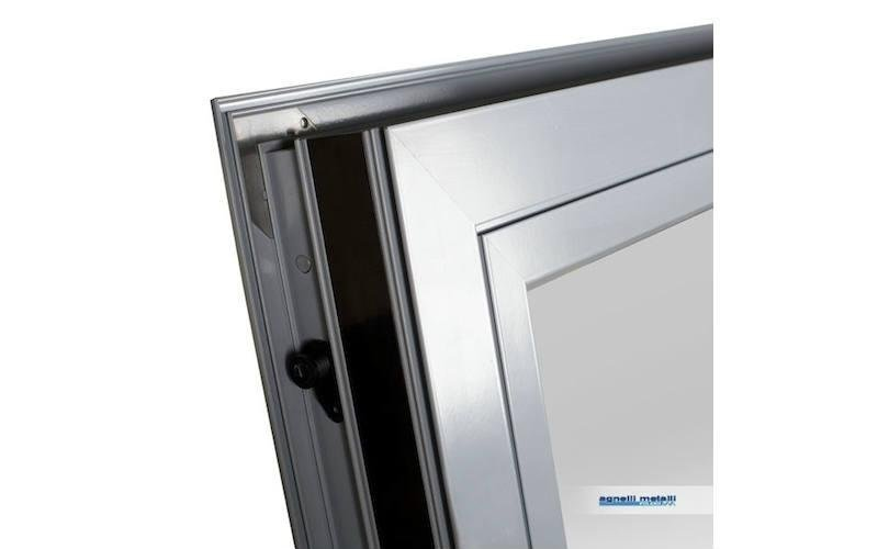 fornitura serramenti alluminio Alluminio Magnum 74  Alexia Sistemi