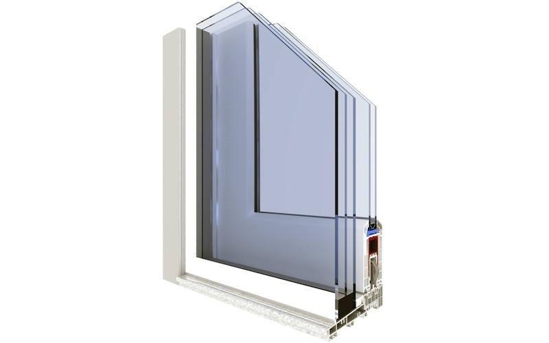 finestra pvc laccata bianca Gruppo Finestre