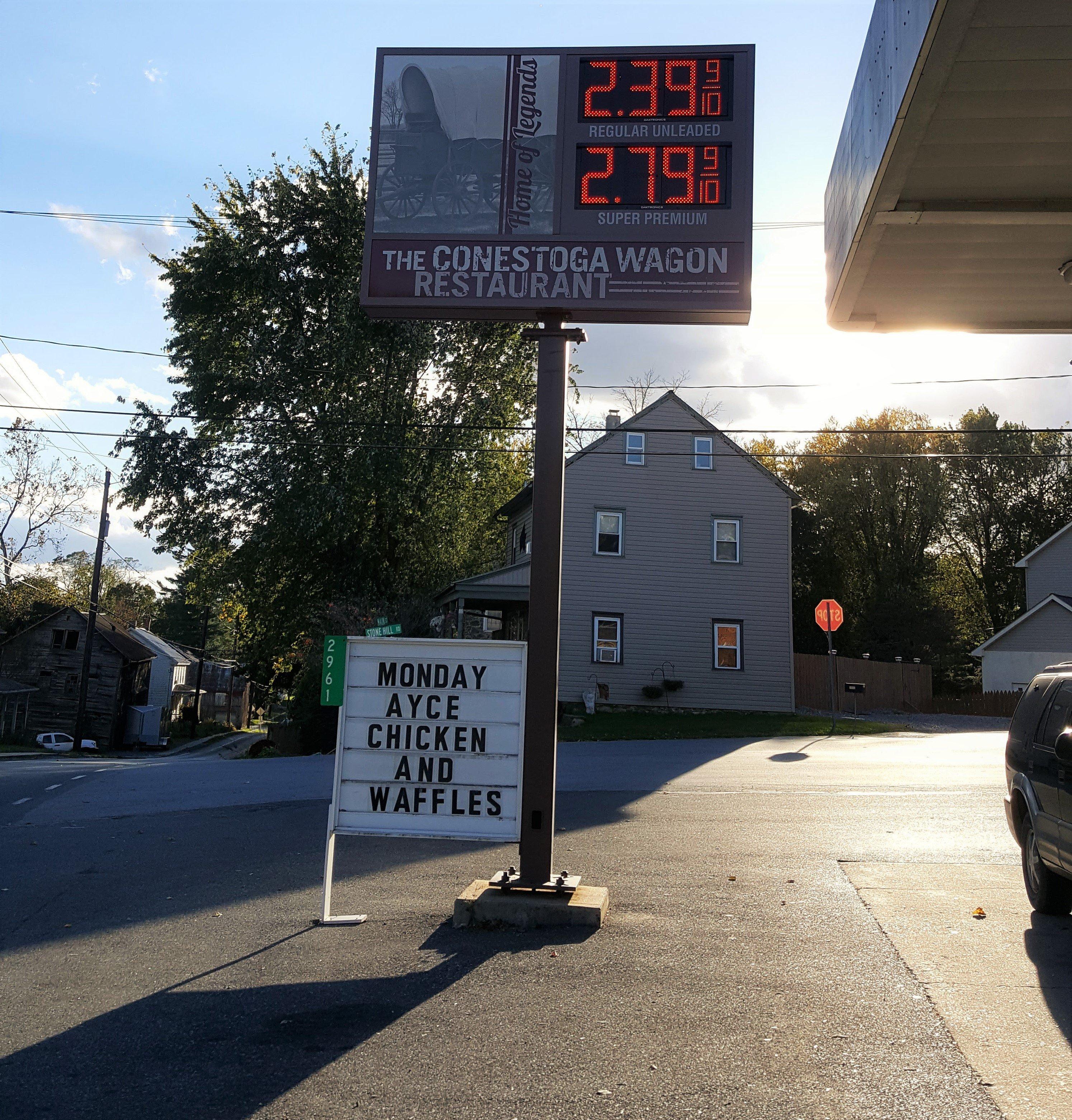 Conestoga Wagon and Quick Shop in Conestoga, PA.