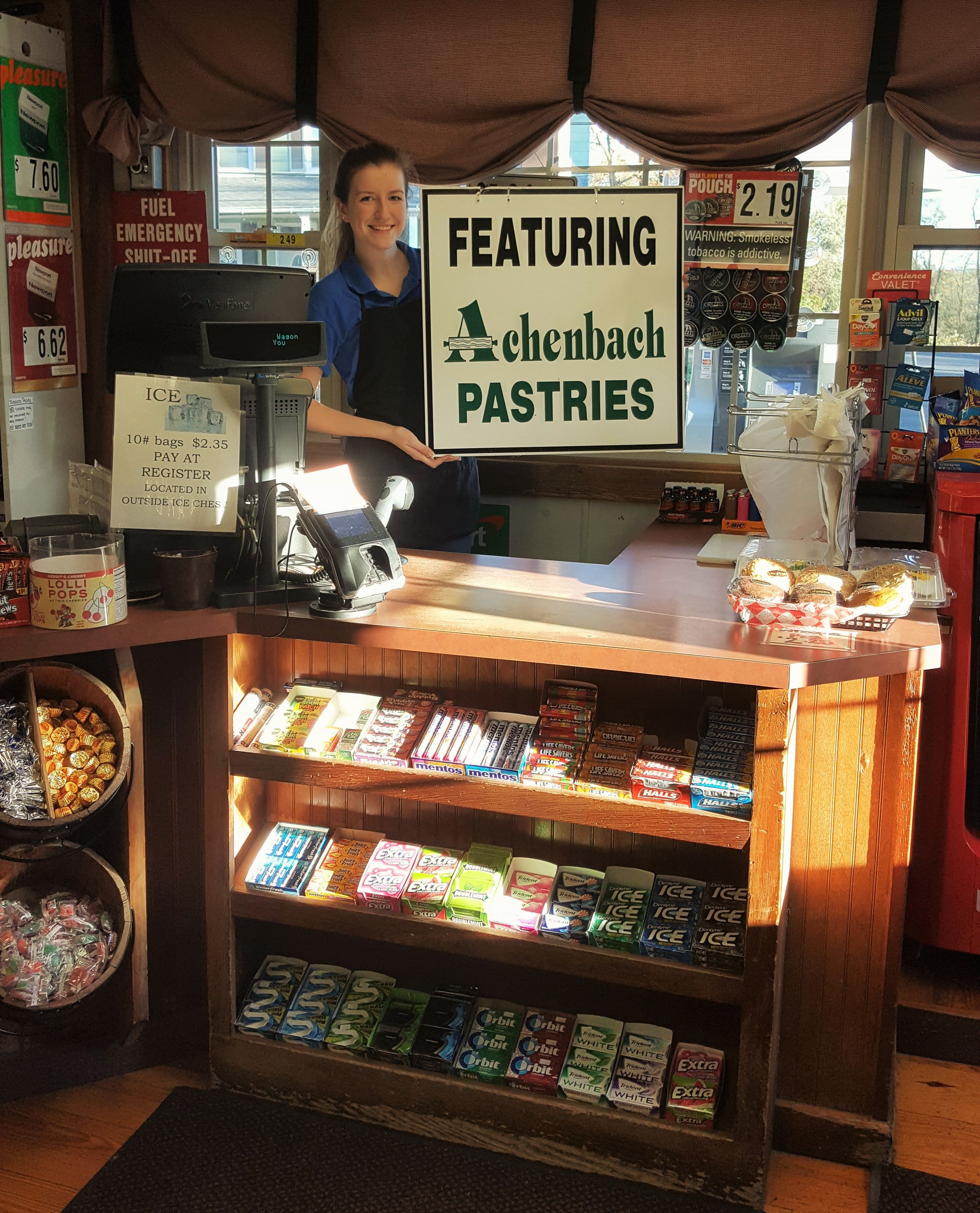 Achenbach's Pastries at the Conestoga Wagon in Lancaster, PA.