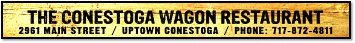 The Conestoga Wagon Restaurant 717-872-4811